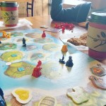 Spent the morning with the big guys playing Catan Juniorhellip