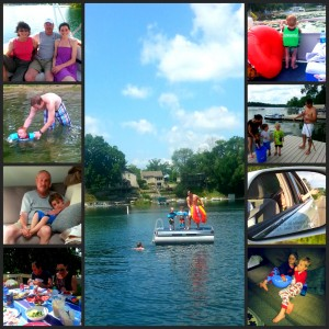 Day at the Lake Collage
