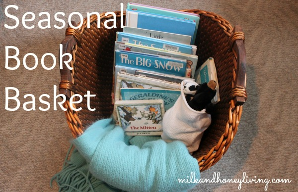 seasonal book basket